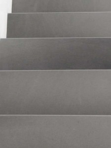 15 grey sandstone stairs - scala in ardesia grigia