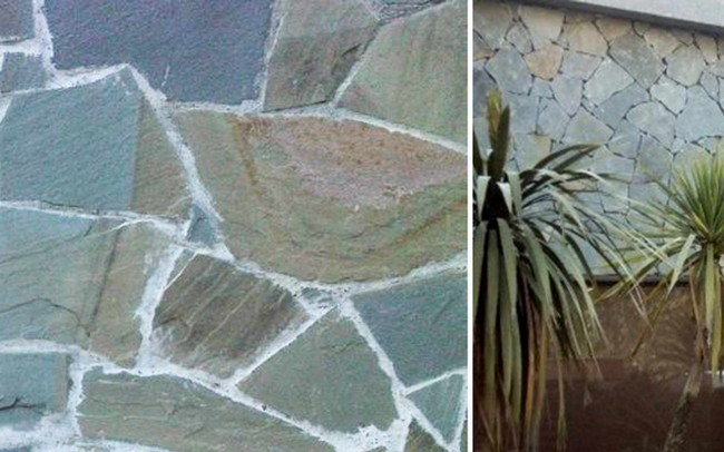 20 grey sandstone Mix Opus Incertum - ardesia grigia