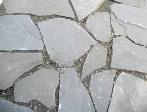 22 grey sandstone Opus Incertum - ardesia grigia