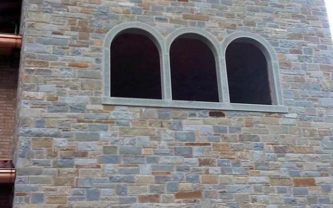 28 grey sandstone mix covering - ardesia grigia coperture