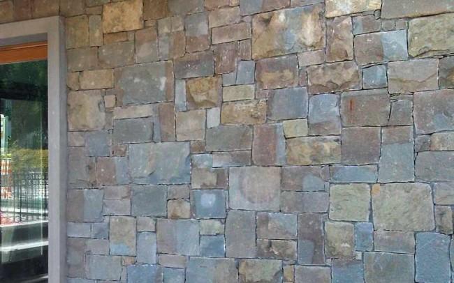 29 grey sandstone mix covering - ardesia grigia coperture