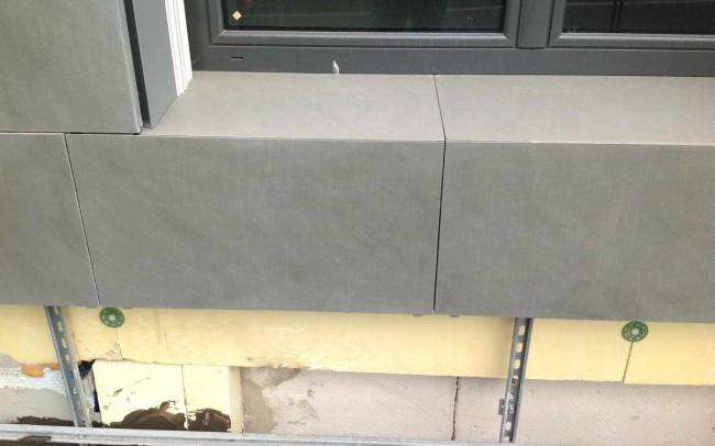 2 grey sandstone - ardesia grigio sabbia facciata ventilata