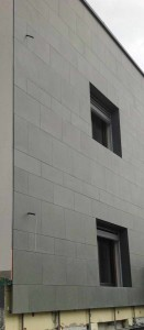 3 grey sandstone - ardesia grigio sabbia facciata ventilata
