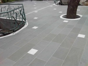 6 grey sandstone sawn and satin