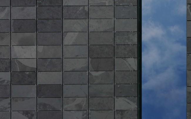 mattonelle parete esterna in grafite