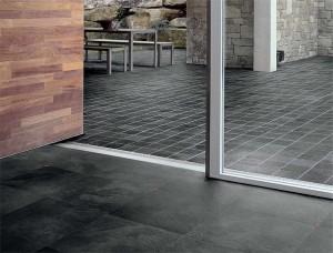 black velvet ardesia 7 mattonelle per pavimento