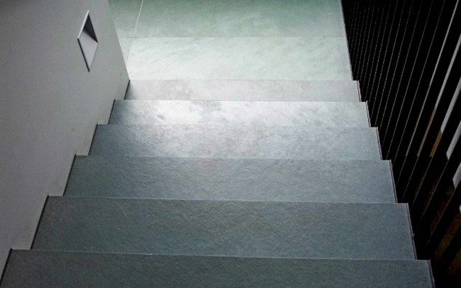 1 Ardesia Verde gradini scala