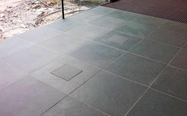 3 Ardesia Verde per pavimenti interni ed esterni