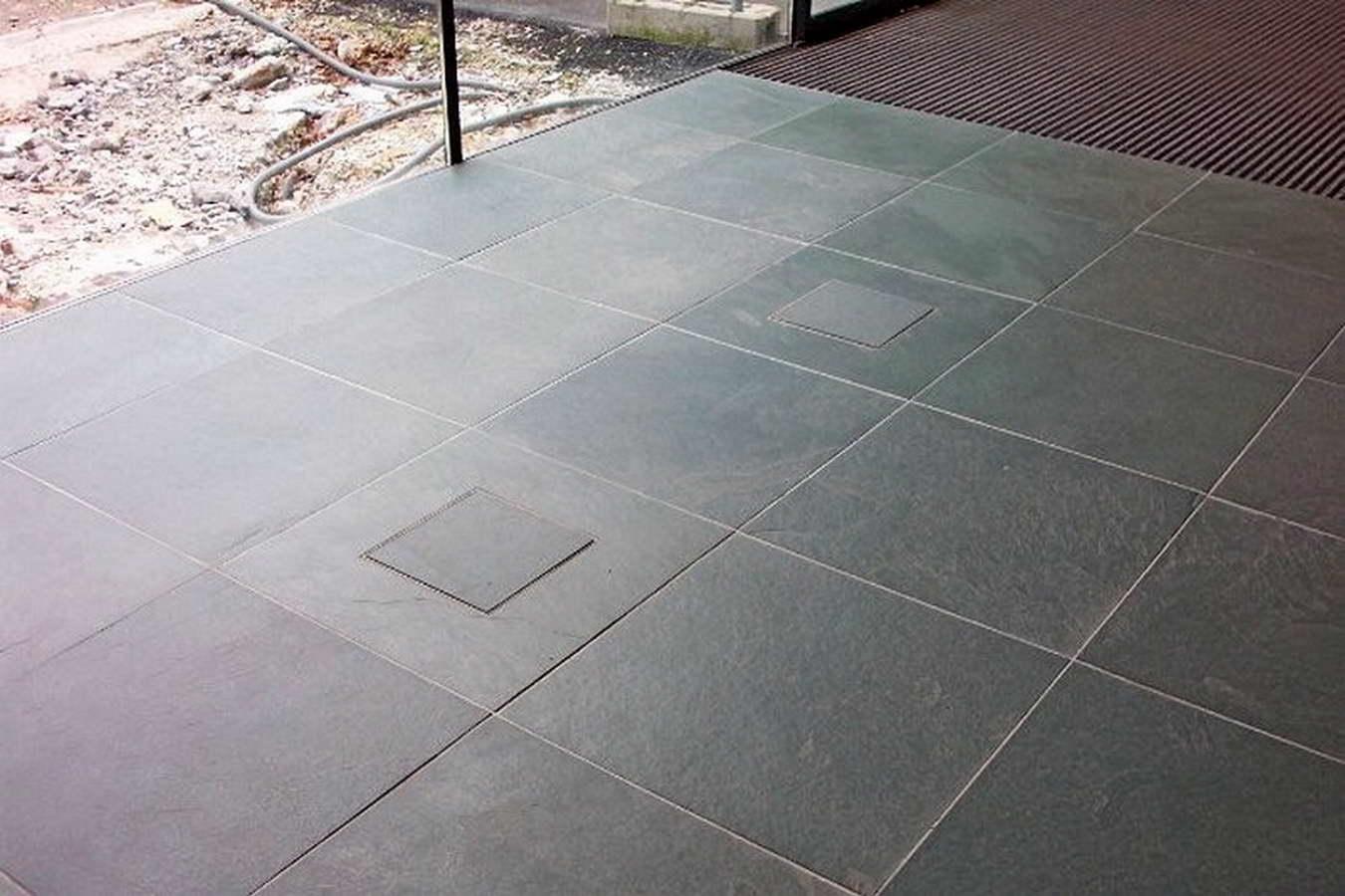 Piastrelle Verdi Per Esterno : Ardesia verde per pavimenti interni ed esterni