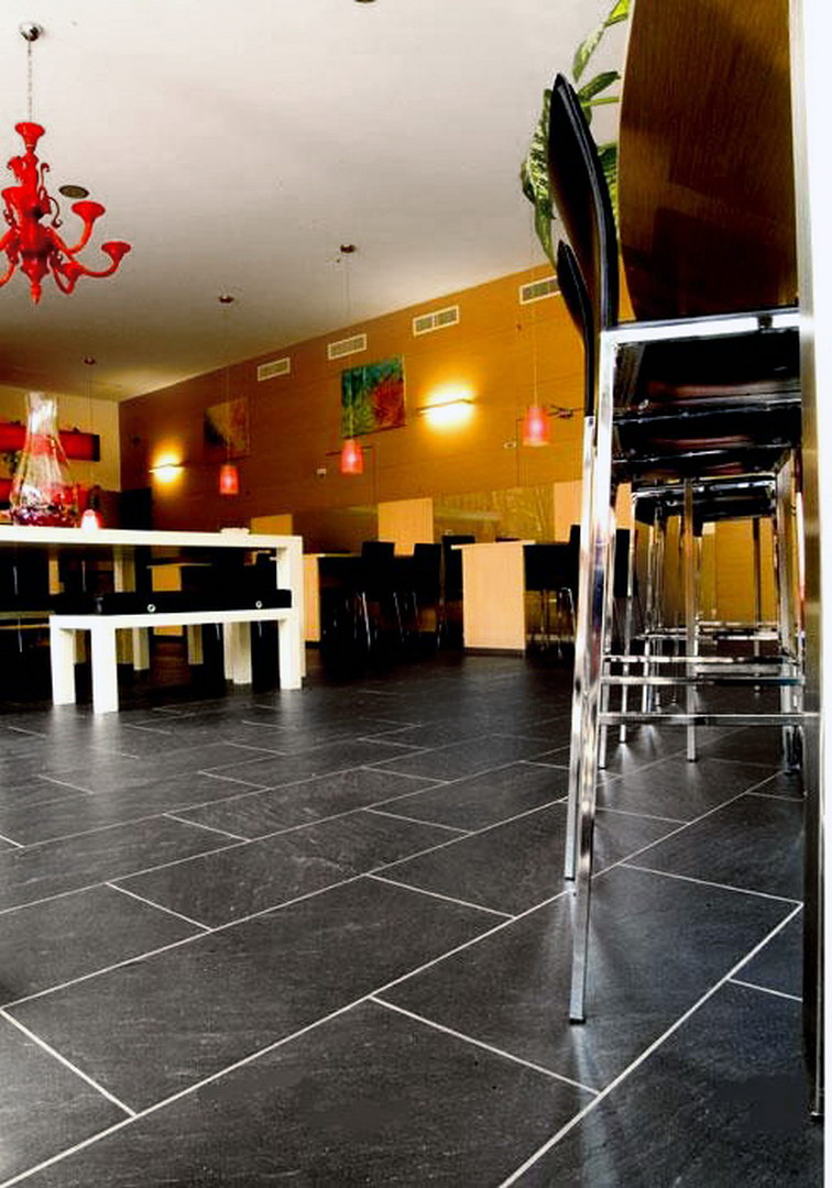 italian slate mattonelle per pavimenti in ardesia italiana - Slate Restaurant 2015