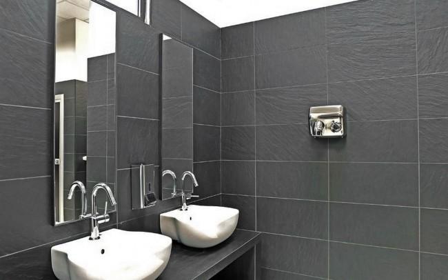 italian slate - rivestimento pareti bagno in ardesia
