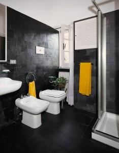 italian slate - pareti e pavimento bagno in ardesia - 32