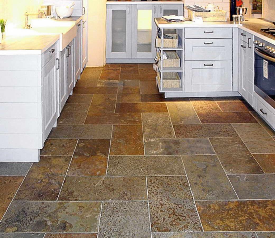 Pavimenti in ardesia per interni beautiful piastrelle - Ardesia in cucina ...