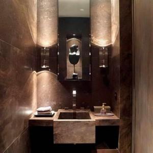 1 Palladio Brown rivestimento bagno