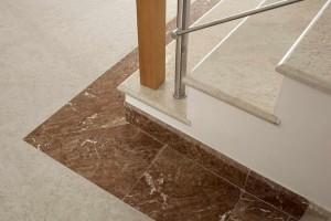 23 Pergamena Stone Brushed - Pietra Pergamena spazzolata per Scale