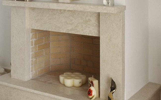 24 Pergamena Stone Brushed - Pietra Pergamena spazzolata per Caminetti