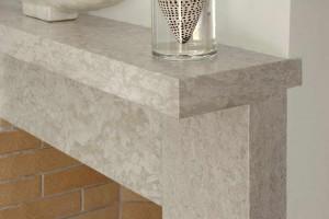 25 Pergamena Stone Brushed - Pietra Pergamena spazzolata per Caminetti