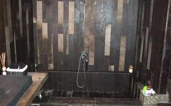 2 Marmo Palladio Brown rivestimento bagno