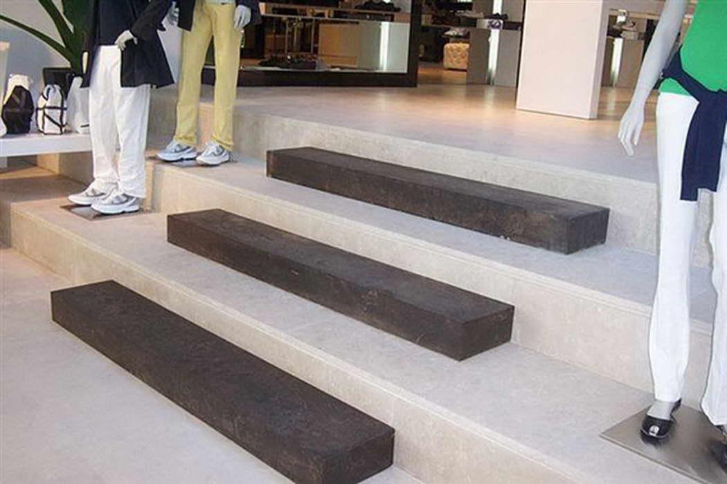 Marmo palladio brown per pavimenti scale rivestimenti - Marmo per scale ...