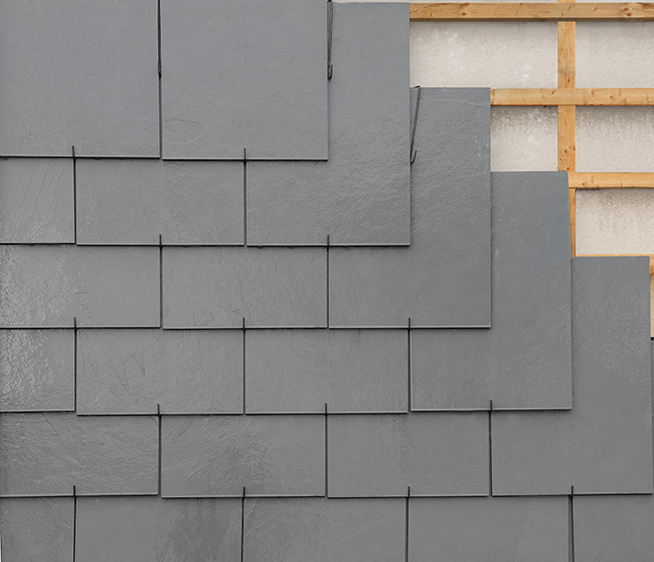Foto montaggio tetto a ganci